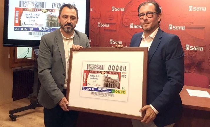 Imagen de la presentación del sorteo.
