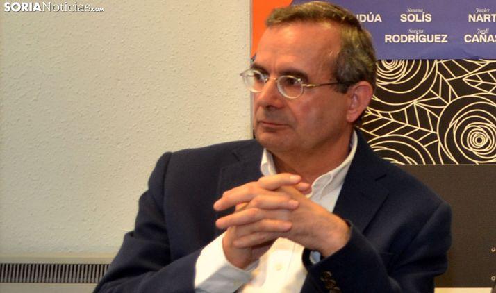 Jesús de Lózar, concejal de Cs en la capital. /SN