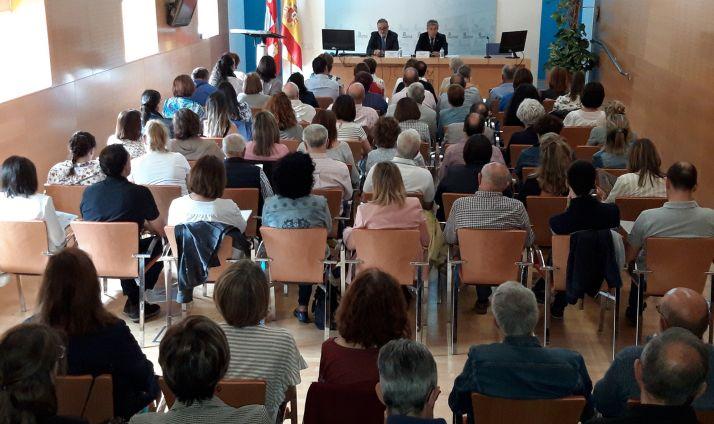 Inauguración de la II Jornada sobre Experiencias del Paciente Activo en diabetes de Castilla y León. /Jta.