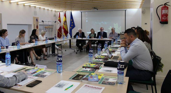 Una imagen de la reunión este lunes. /Subdelegación