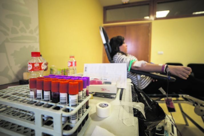 Foto 1 - A lo largo de los primeros cinco meses de este 2019, se contabilizan 2.116 donaciones de sangre en Soria