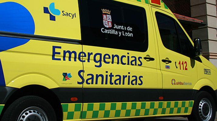 Foto 1 - Fallece un motorista en Burgos tras chocar contra un turismo