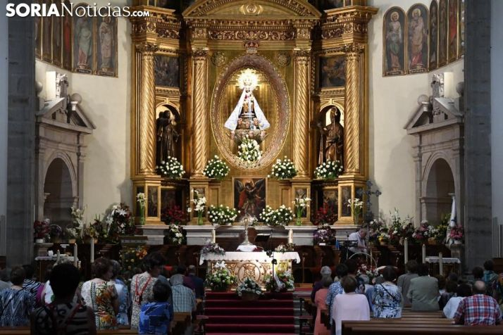 Procesión del Sagrado Corazón en Ágreda. / Nacho Grijalbo