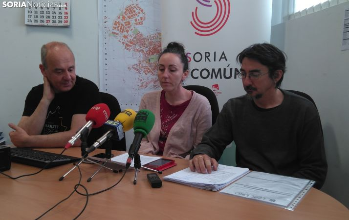 Soria En Común continuará haciendo 'oposición' fuera del Ayuntamiento