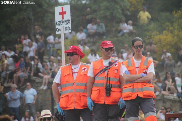 Servicio de Cruz Roja durante La Compra 2019. /María Ferrer.