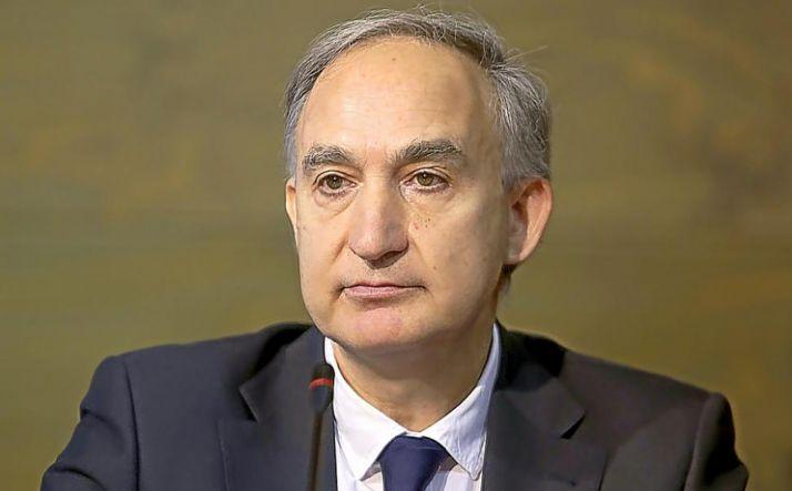 Antonio Largo, rector de la UVa.