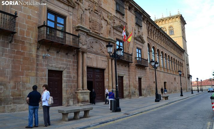Palacio de los Condes de Gómara, sede de los juzgados en la capital. /SN