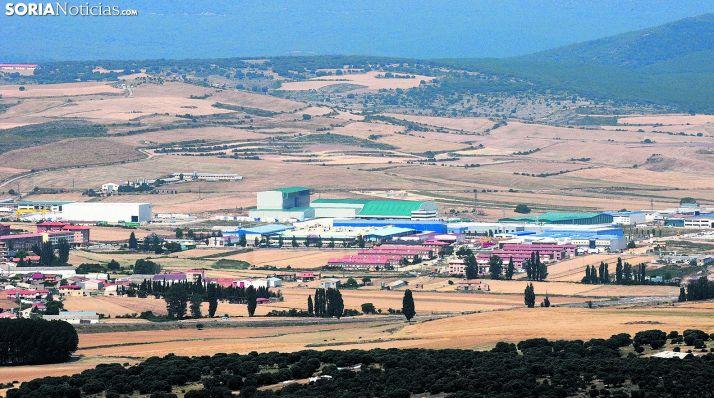 Imagen del polígono industrial Emilano Revilla, en Ólvega. /SN