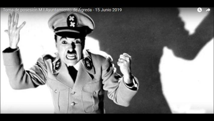 Una imagen del vídeo lanzado por la PPSO de Ágreda.