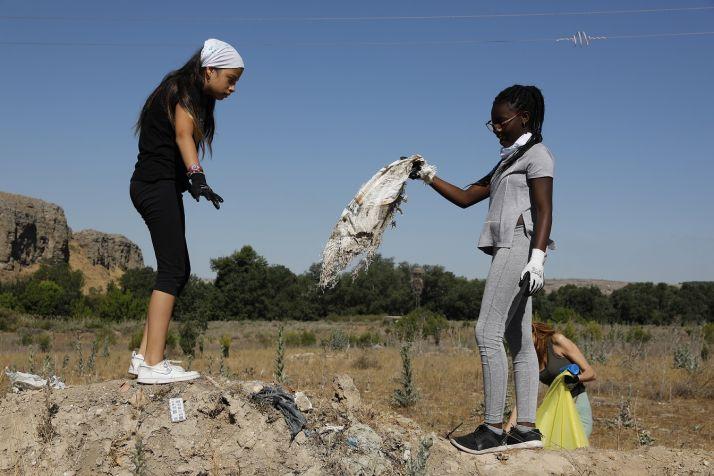 Campaña '1m2 por la naturaleza' del Proyecto LIBERA.