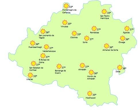 Foto 1 - Continúa el calor razando los 40 grados este Sábado Agés