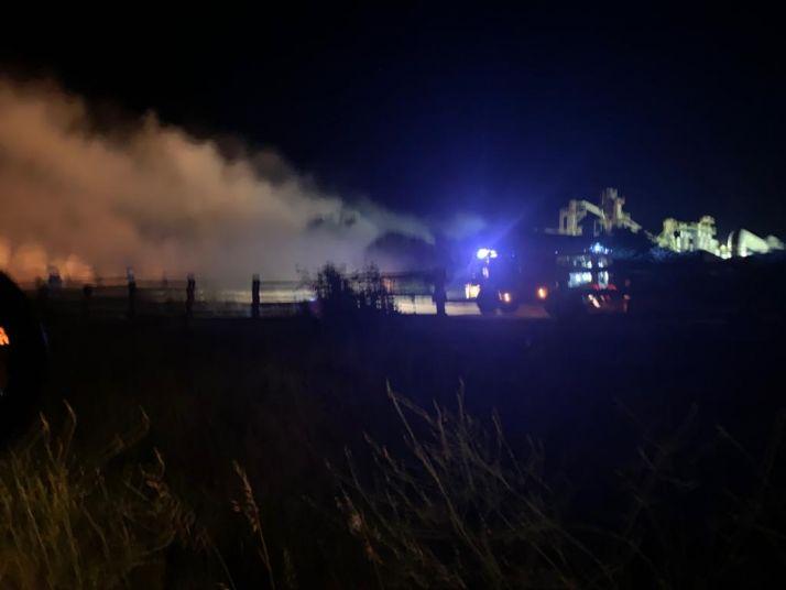 Foto 1 - Conato de fuego junto a Tableros Losán esta madrugada