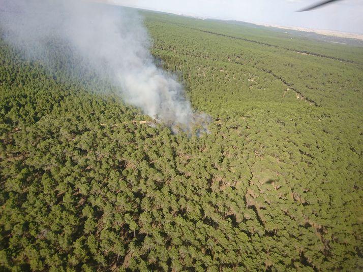 Foto 1 - 0,5 M€ para prevención de incendios en la comarca de Almazán
