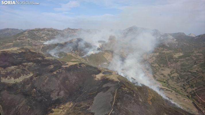 Foto 1 - La Junta adjudica un retén de maquinaria pesada para la extinción de incendios en Soria
