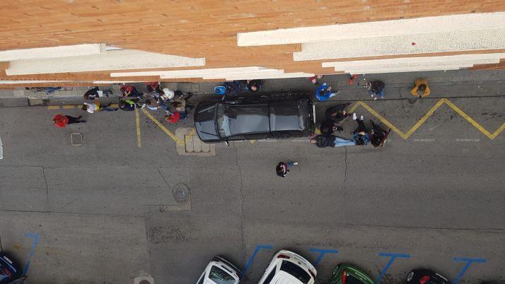 Sorianos hacen cola para apuntarse a la Peña Poca Pena. Nuestras fiestas de San Juan