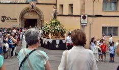 Una imagen de la procesión de este martes. /SN