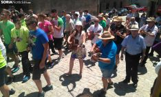 Una imagen de la ronda de este jueves en Duruelo. /SN