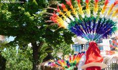 Una imagen del multitudinario desfile este sábado en la capital soriana. /SN