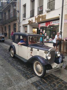 Una imagen del desfile por la calle Numancia. /SN