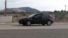 Uno de los vehículos involucrados. /SN