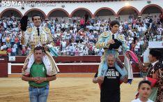 De Justo y Castella en el Domingo de Calderas. /SN