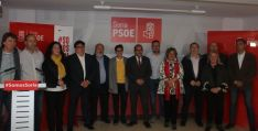 Presentación de los diputados del PSOE