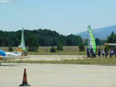 Una imagen de este sábado en el aeródromo. /SN