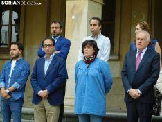 Concentración en el Ayuntamiento de Soria.