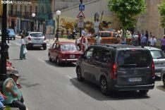Una imagen de San Cristóbal en la capital. /SN