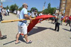 Una imagen de la romería de esta mañana en Cabrejas. /SN
