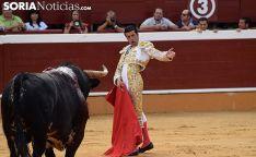 Emilio de Justo en su actuación el Domingo de Calderas. /SN