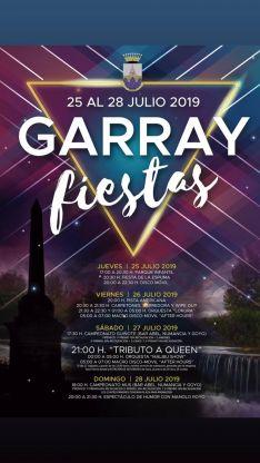 El cartel de las fiestas de Garray