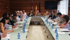 Una imagen de la reunión del Grupo de Trabajo Interadministrativo. /Jta.