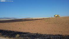 Una imagen del lugar del incendio. /SN