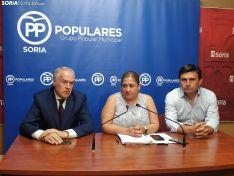 Los portavoces del grupo popular. PP