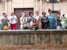 Una imagen de la procesión este martes. /SN
