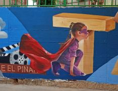 Foto 5 - Tardelcuende también se suma a los murales urbanos