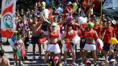 Unas fiestas juveniles en Almazán.
