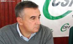 Mariano Prieto, de CSIF. /SN