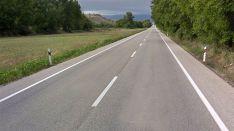Una imagen de la N-113 en el kilómetro 61. /GM