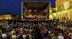 Imagen del concierto ofrecido por la Oscyl en la capital el 14 de julio de 2018.