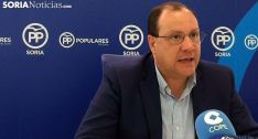 Pedro Antonio Heras, procurador soriano del PP en las Cortes regionales. /SN