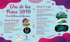 El programa de actividades en el municipio sanestebeño.