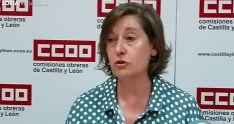 María Jesús Sotillos, de CC OO Soria, este jueves. /SN