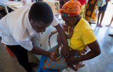 Imagen de la campaña de vacunación.
