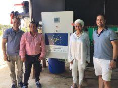 Foto 2 - La líder colombiana Piedad Córdoba visita COPISO y la granja avícola La Cañada Soriana