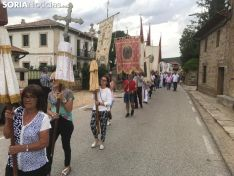 Celebración de la Virgen del Castillo en El Royo.