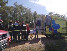 Accidente en Navalcaballo.