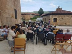 Una imagen de la tarde en la residencia visontina.
