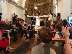 Una imagen de la especial jornada vivida este sábado en Montenegro de Ágreda. /SN